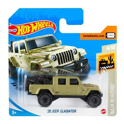 Hot Wheels 20 Jeep Gladiator