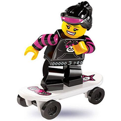 Lego Minifigür Seri 6 Skater Girl
