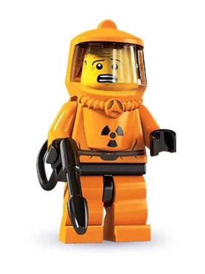 Lego Minifigür Seri 4 Hazmat Guy