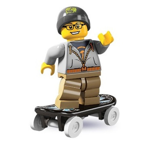 Lego Minifigür Seri 4 Street Skater
