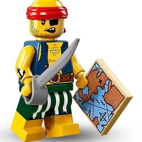 Lego Minifigür Seri 16 Scallywag Pirate