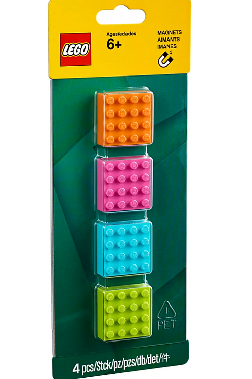 LEGO® 4x4 Brick Magnets 853900