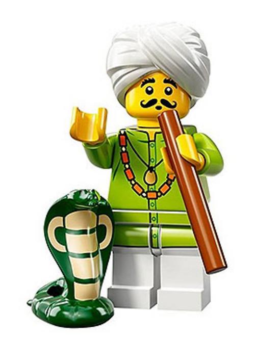 Lego Minifigür Seri 13 Snake Charmer No:4