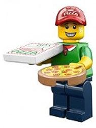 Lego Minifigür Seri 12 Pizza Delivery Guy