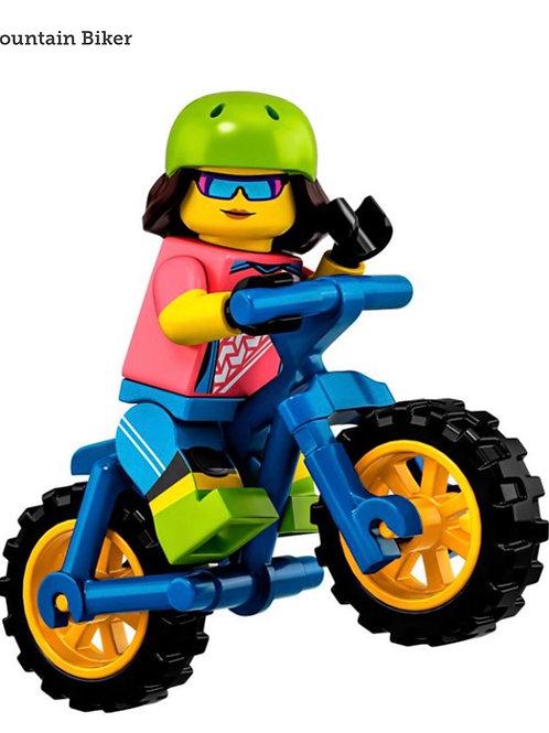 Lego Minifigür Seri 19 Mountain Bike