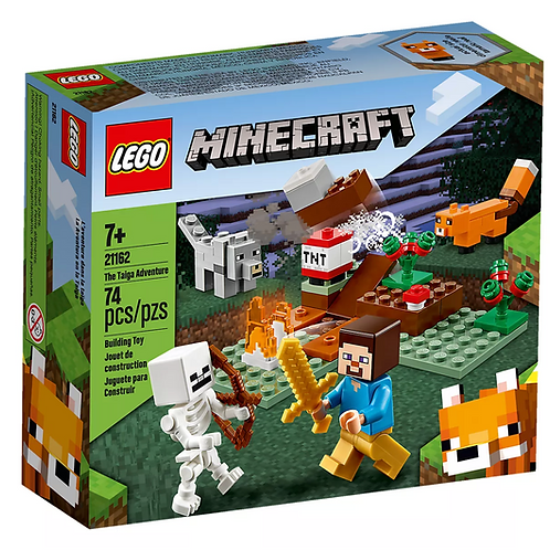 Minecraft 21162 The Taiga Adventure