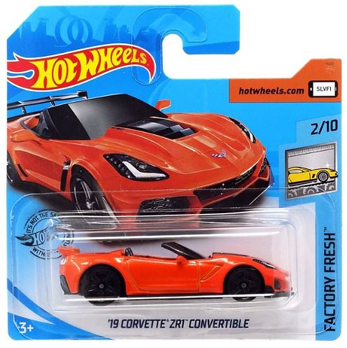 Hot Wheels '19 Corvette ZR1 Convertible