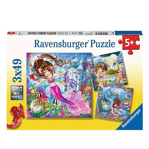 Ravensburger 3x49 (080632) Mermaid