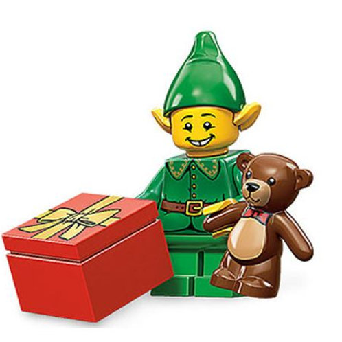 Lego Minifigür Seri 11 Holiday Elf No:7