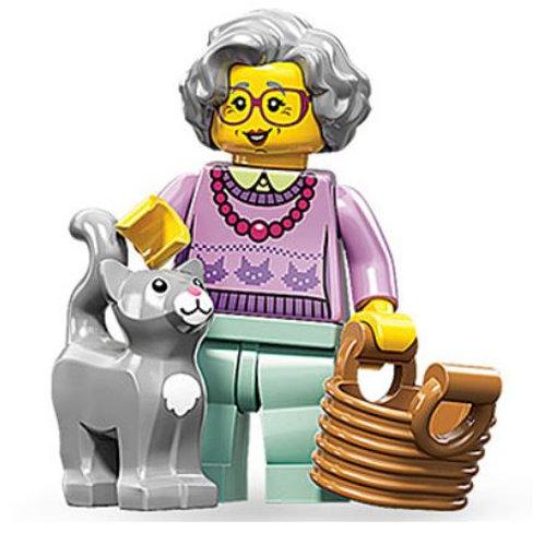 Lego Minifigür Seri 11 Grandma No:14