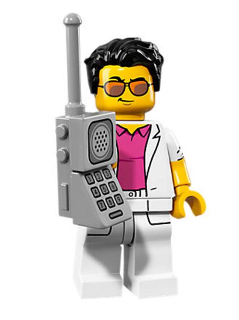 Lego Minifigür Seri 17 Yuppie