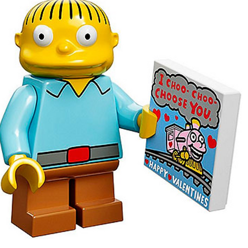 Lego Minifigür Simpsons Ralph Wiggum No:10