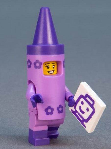 Lego Movie 2 Minifigure Series No:5 Crayon Girl