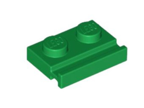 Plate, Modified 1 x 2 with Door Rail 32028