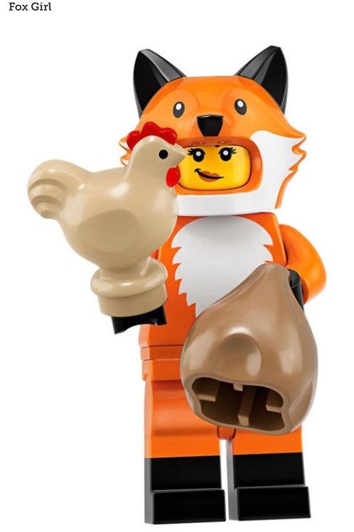 Lego Minifigür Seri 19 Fox Girl