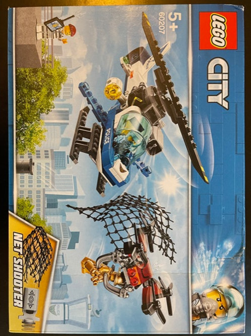 OUTLET - LEGO® City Gökyüzü Polisi Insansız Hava Aracı Takibi (60207)