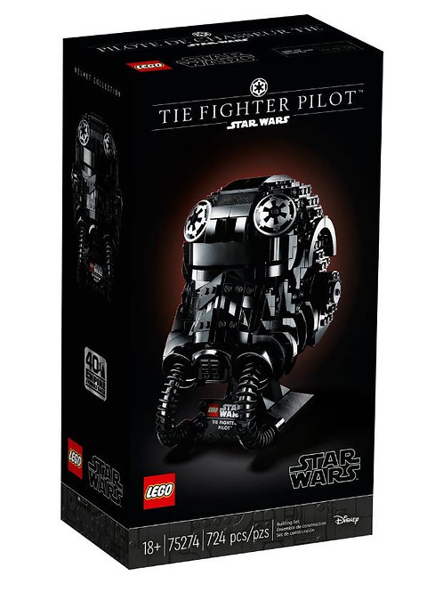 Lego Star Wars 75274 TIE Fighter Pilot™ Helmet