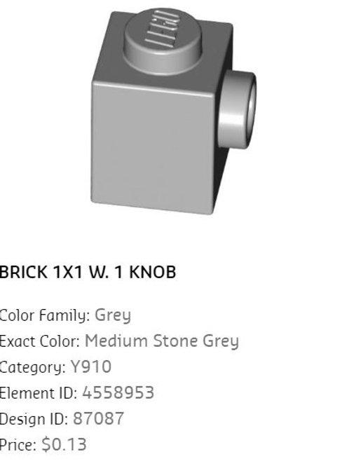 Brick 1x1 W.1 Knob