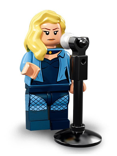 Lego Minifigür Batman 2 Seri Black Canary
