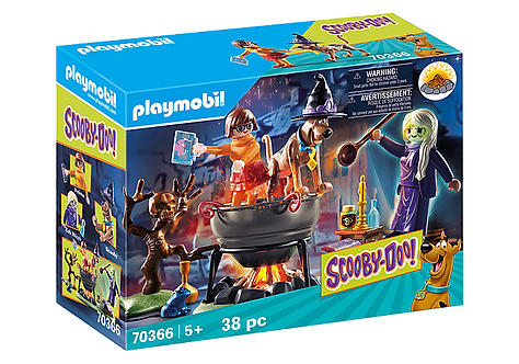 Playmobil 70366 Scooby-Doo Adventure in the Witch's Cauldron
