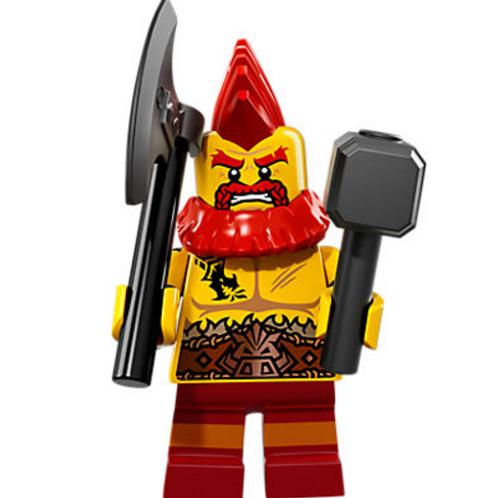 Lego Minifigür Seri 17 Battle Dwarf