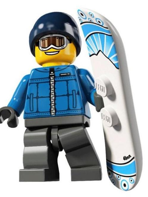 Lego Minifigür Seri 5 Snowboarder (Male) No:16