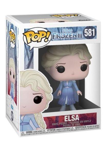Funko Pop 581 Fgr-POP Disney, Frozen 2, Elsa