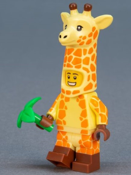 Lego Movie 2 Minifigure Series No:4 Giraffe Guy