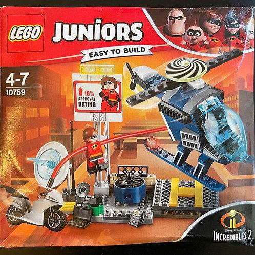 OUTLET - LEGO Juniors The Incredibles 2 10759 Elastikkız'ın Çatı Takibi