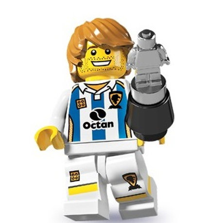 Lego Minifigür Seri 4 Soccer Player