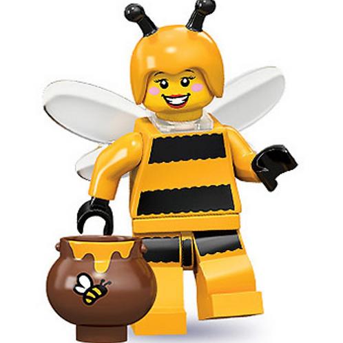 Lego Minifigür Seri 10 Bumblebee Girl No:7