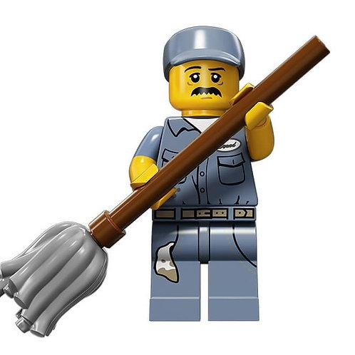 Lego Minifigür Seri 15 Janitor