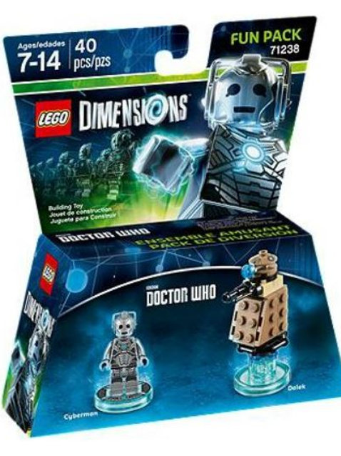 Lego Dimensions 71238 Doctor Who (Cyberman and Dalek)