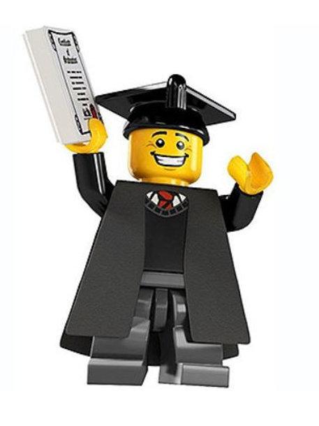 Lego Minifigür Seri 5 Graduate No:1