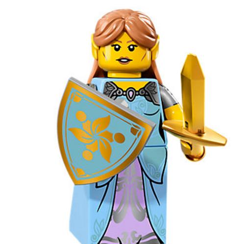 Lego Minifigür Seri 17 Elf Girl