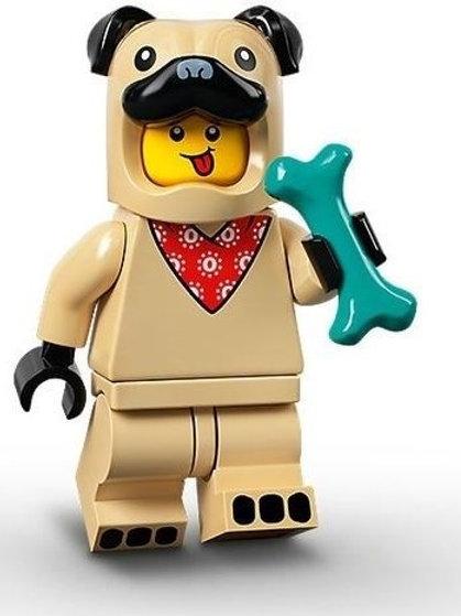 Lego Minifigür Seri 21 - 5 Pug Costume Guy