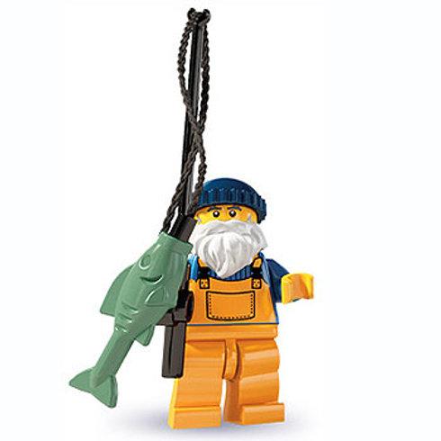 Lego Minifigür Seri 3 Fisherman No1