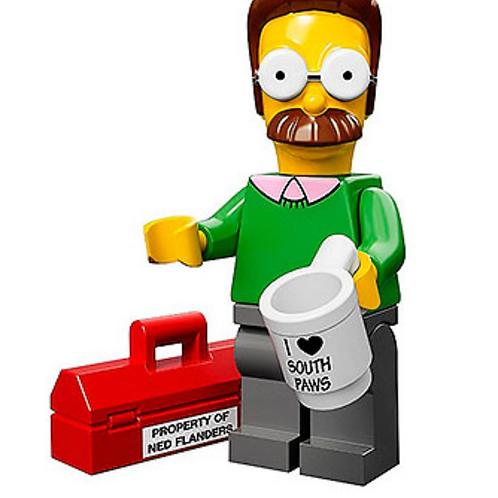Lego Minifigür Simpsons Ned Flanders No:7
