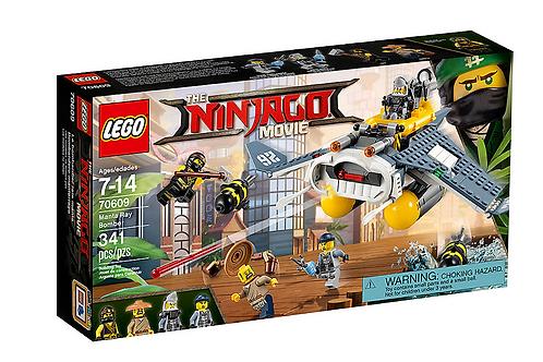 Lego Ninjago 70609 Manta Ray Bomber