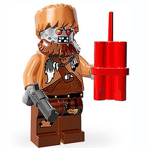 Lego Minifigür Movie Seri Wiley Fusebot