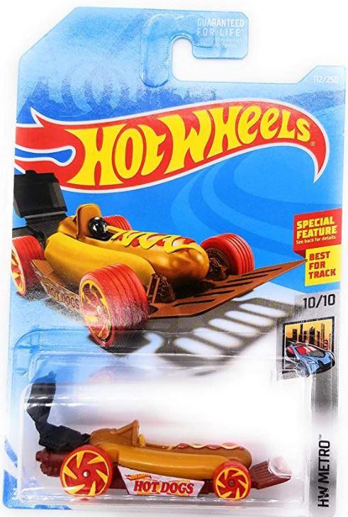 Hot Wheels Metro Street Wiener (Hot Dog Car)