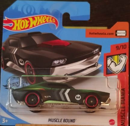 Hot Wheels Muscle Bound