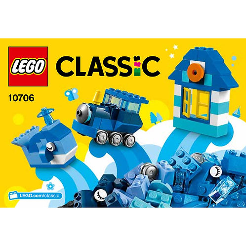 Lego Classic 10706 Mavi Yaratıcılık Kutusı