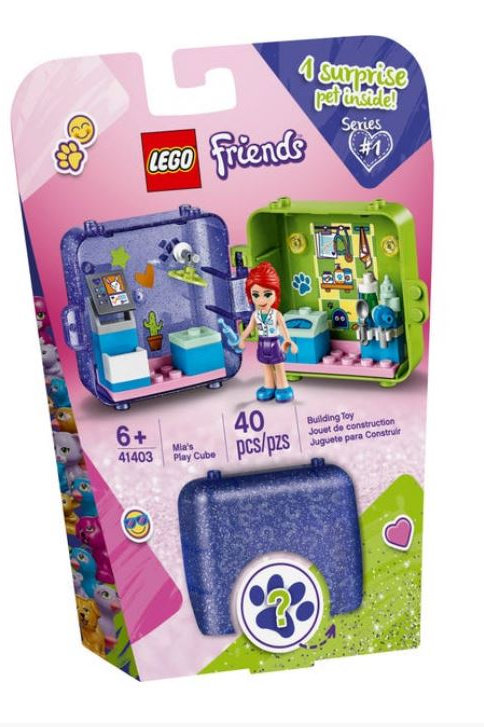 Lego Friends 41403 Mia's Play Cube