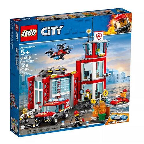 Lego City 60215 İtfaiye Merkezi