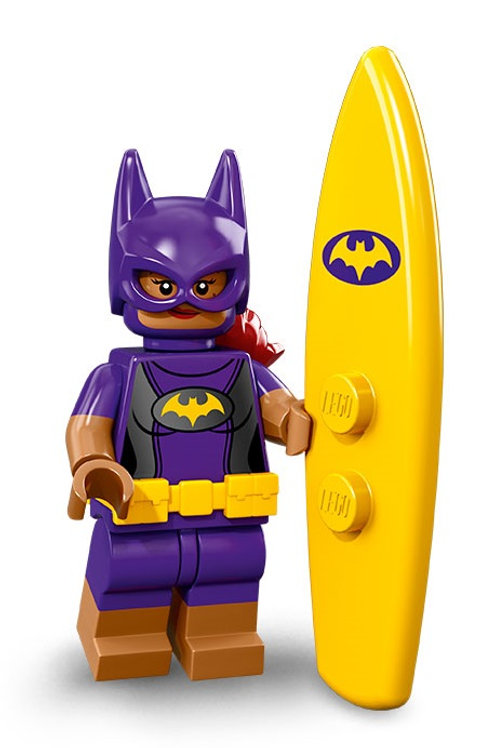 Lego Minifigür Batman 2 Seri Surfer Batgirl