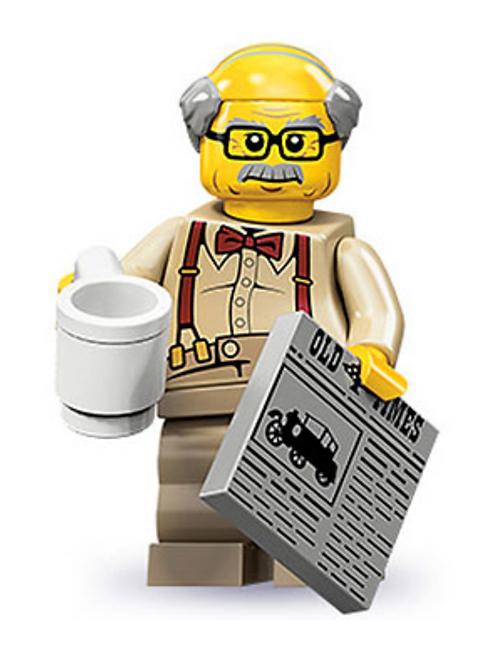 Lego Minifigür Seri 10 Grandpa No:8