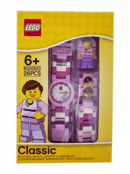 LEGO Classic 8020820 Pink Minifigure Link Watch