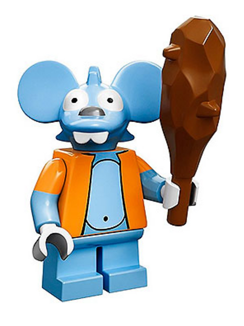 Lego Minifigür Simpsons Itchy No:13