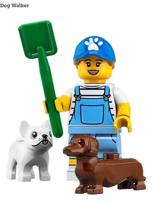 Lego Minifigür Seri 19 Dog Walker